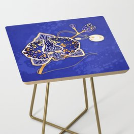 Egyptian Blue :: Orchid Side Table