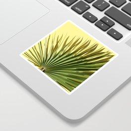 Palm on Yellow Sticker