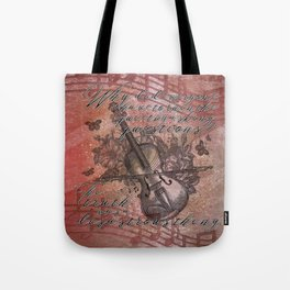 The Truth is a Disastrous Thing Tote Bag