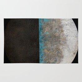 Eclipse - original encaustic painting Rug