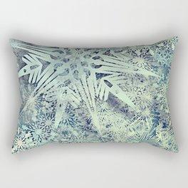 sea of flakes Rectangular Pillow