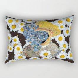 Van flowers Rectangular Pillow