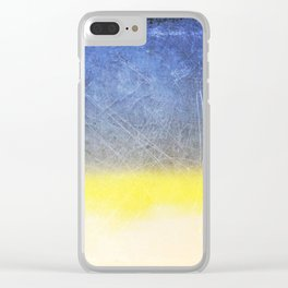 Reckoning of Cloudy Sunset Clear iPhone Case