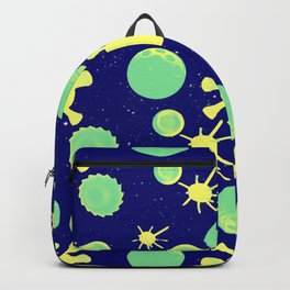 pastic planet Backpack
