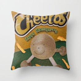 CHedda jALpenO CHeETOoooossss Throw Pillow