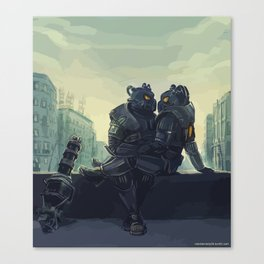 fallout love Canvas Print