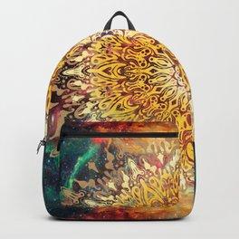 Cygnus Cosmic Mandala Backpack