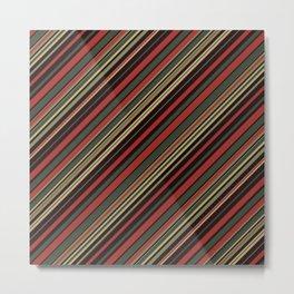 Just Stripes 3 Metal Print