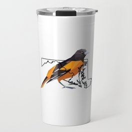 Maryland – Baltimore Oriole Travel Mug