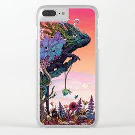 Phantasmagoria Clear iPhone Case