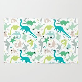 Dinosaur fabric Rug