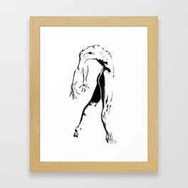 She Continues  Framed Art Print