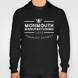 monmouth manufacturing white Hoody