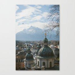 Salzburg Austria View Canvas Print