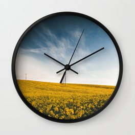Open Space Wall Clock