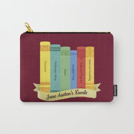 The Jane Austen's Novels IV Carry-All Pouch