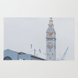 At the Ferry Building in San Francisco Rug