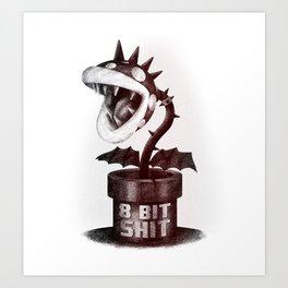 Punk Piranha Art Print