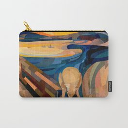 Curves - O Grito Carry-All Pouch