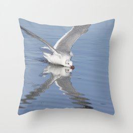 Getting A Drink Throw Pillow