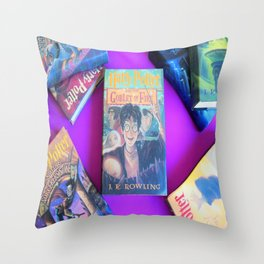 The Boy Who Lived Part 2 Throw Pillow
