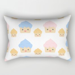 Cupcake family print Rectangular Pillow
