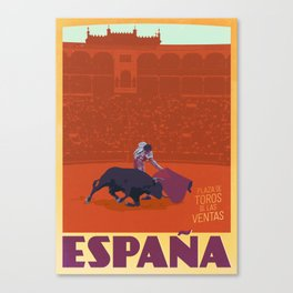Vintage Travel Poster - España / Spain  Canvas Print