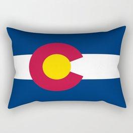 Colorado State Flag Rectangular Pillow