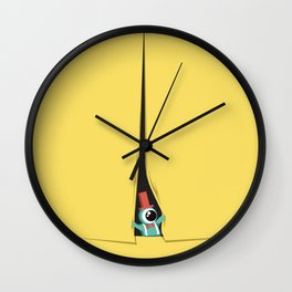Peek show! Wall Clock