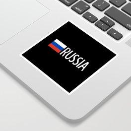 Russia: Russian Flag & Russia Sticker