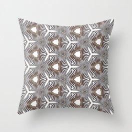 Zebra inspired digital print Throw Pillow