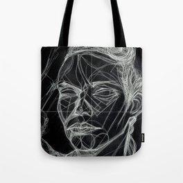 Donna Enigmatica #5; Vivien Solari #1 (B) - Artist: Leon 47 ( Leon XLVII ) Tote Bag