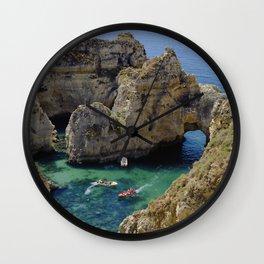 Ponta da Piedade, Lagos, Portugal Wall Clock