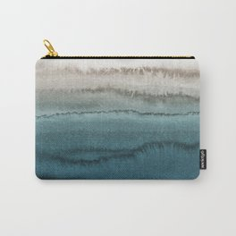 WITHIN THE TIDES - CRASHING WAVES TEAL Carry-All Pouch
