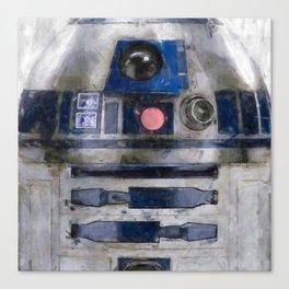 R2D2 Droid Robot StarWars Canvas Print