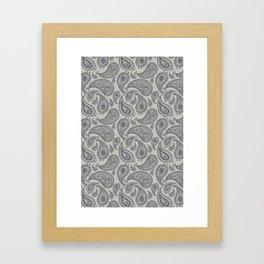 Pasely Framed Art Print