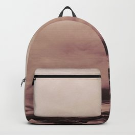 PINK & GOLD & BLACK TOUCHING #1 #abstract #decor #art #society6 Backpack