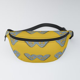 butterfly cartoons in hearts Fanny Pack