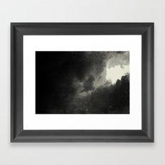 Hole In The Sky III Framed Art Print