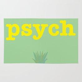 Psych! Rug