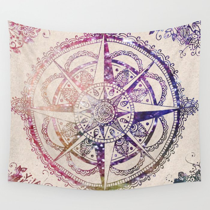 Voyager II Wall Tapestry