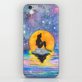 The Little Mermaid Galaxy iPhone Skin
