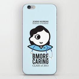 JHU Bmore Caring | Female iPhone Skin