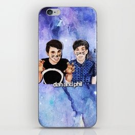 DAN AND PHIL iPhone Skin