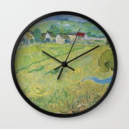 Vincent Van Gogh - Les Vessenots in Auvers Wall Clock