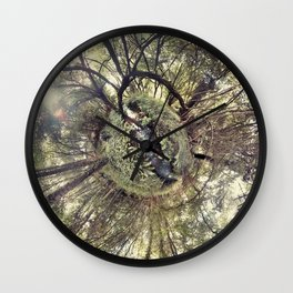 ROUND FOREST Wall Clock