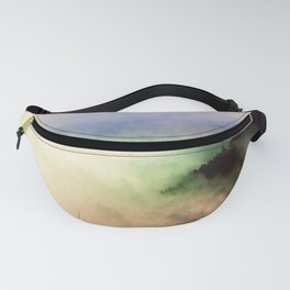 Ethereal Rainbow Clouds - Nature Photography Fanny Pack