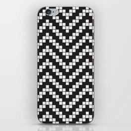 Herringbone Weave Seamless Pattern. iPhone Skin
