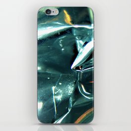 Pleated Metal Construction iPhone Skin