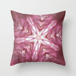 Blood Spindle Throw Pillow